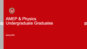intro slide for undergrad presentation