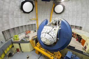 images shows a huge camera inside an observatory